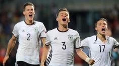 U19 qualifiziert sich für WM 2017: Historischer Fußball-Moment in Sandhausen