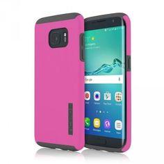 Incipio Samsung Galaxy S7 Edge Dual PRO Case - Pink / Grey - MyPhoneCase.com