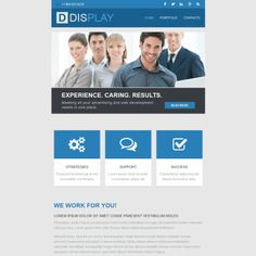 Newsletter Theme for Web Design Website