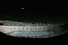 IR view of the Rose Bowl