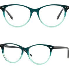 191c26addb1 Thin Men Women Acetate Frame Spring Hinge Round Glasses Silver Dot Accents  Green  Unbranded Green