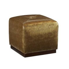 Highland House Furniture: CA6055-18 - HIP TO BE SQUARE OTTOMAN