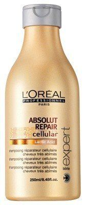 L'Oreal Professional Serie Expert Absolute Repair Shampoo, 50.7 oz by L'Oreal Paris. $45.95. Rich lather. in need of repair. Absolut Repair Shampoo 1500ml. Good for all hair types. Repairs Very damaged hair. Luscious, Lovely Locks Restoring distressed hair is no more a tiring task. Revitalize your tresses with L'Oreal Professional Serie Expert Absolute Repair Shampoo and solve all those dreaded problems. It nourishes your hair, repairs it and gives you dazzling h...