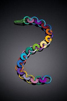 Anodized Aluminum Washer Bracelets