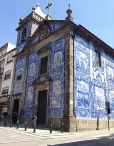 Azulejos The Art of Ceramic Tiles - Porto, Portugal — Places Around The World, Oh The Places You'll Go, Places To Travel, Places To Visit, Around The Worlds, Porto Portugal, Spain And Portugal, Portugal Travel, Beautiful Buildings