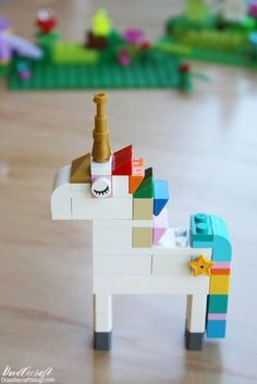 How to Build: Lego Unicorn Instructions – 10 Ways! Doodlecraft: How to Build: Lego Unicorn Instructions – 10 Ways! How to Build: Lego Unicorn Instructions – 10 Ways! Doodlecraft: How to Build: Lego Unicorn Instructions – 10 Ways! Lego Activities, Craft Activities For Kids, Crafts For Kids, Projects For Kids, Preschool Activities, Lego Duplo, Diy Lego, Lego Craft, Lego Design