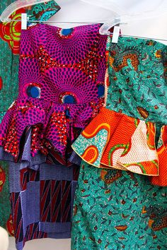 African Prints in Fashion: African Bazaar in Brooklyn