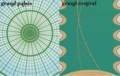 """""""le toit"""" {the roof} Grand Palais vs Grand Central from Paris Vs. New York by Vahram Muratyan"""