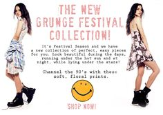 NEW WILDFOX Grunge Collection #wildfox #wildfoxcoutureuk #grunge #collection#women #festival #summer
