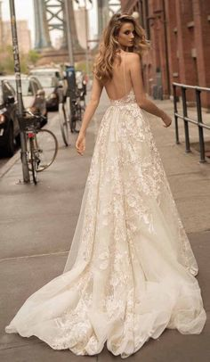 Lace Wedding Dresses Berta Wedding Dress Collection Spring 2018 - From chic pieces to sexy silhouettes that highlight every feminine curve oh-so-glamorously; Berta Wedding Dress Collection Spring 2018 is simply fabulous. Bridal Collection, Dress Collection, Pretty Dresses, Beautiful Dresses, Women's Dresses, Bridesmaid Dresses, Sequin Bridesmaid, Event Dresses, Bride Dresses
