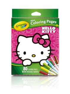 Crayola Hello Kitty Mini Coloring Pages *** You can get more details by clicking on the image.Note:It is affiliate link to Amazon.