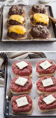 Best Hamburgers Recipe Ever! Best Hamburgers Recipe Ever! Best Hamburger Recipes, Meat Recipes, Cooking Recipes, Cooking Food, Hamburger Dinner Ideas, Crockpot Recipes, Cake Recipes, Good Healthy Recipes, Easy Dinner Recipes
