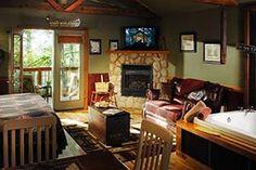 Reel Em In cabin at Eureka Sunset - Eureka Springs, AR