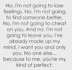 Love Quotes For Her: 50 Girlfriend Quotes: I Love You Quotes for Her Cute Love Quotes, Love Quotes For Her, Love Yourself Quotes, You Are Perfect Quotes, Love All Of You, Perfect For Me, You Are Mine, Long Love Quotes, Perfect Kiss