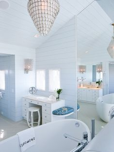 Bathroom Beadboard Design, Pictures, Remodel, Decor and Ideas - page 28