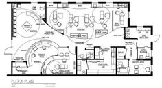 Dental Office Floor Plans, Orthodontic and Pediatric Dental Office Decor, Dental Office Design, Design Offices, Modern Offices, Earthship Plans, Office Floor Plan, Clinic Design, Healthcare Design, Dental Bridge