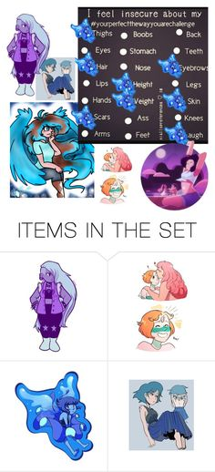 """""""My insecurities 😒"""" by elaarts13 ❤ liked on Polyvore featuring art and ElasArt"""