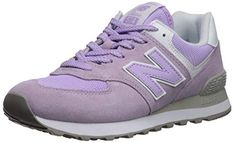 New Balance Women's Sneaker, Violet glo/White, 9 B US Latest Sneakers, Retro Sneakers, Sneakers Fashion, Shopping World, Online Shopping Stores, Your Shoes, New Shoes, Zapatillas New Balance, Classic Branding