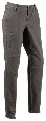 Ascend Straight-Leg Trail Pants for Ladies - Charcoal Gray - 12
