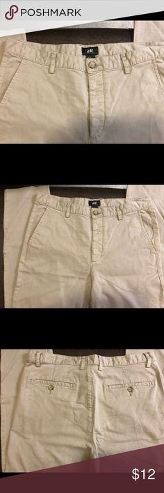 H&M Men's Gray Chino Pants H&M Men's Gray Chino Pants H&M Pants Chinos & Khakis