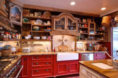 farm house kitchen design 7 want open shelves