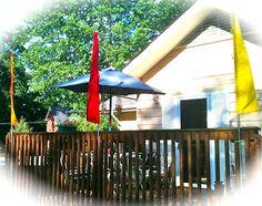 DIY outdoor flags