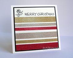 MASKerade: FS298 - sparkly Christmas