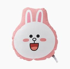 LINE Friends Shaped cushion Face Cony Character Doll Gift Toy GENUINE ORIGINAL #LINEFriends #Dolls