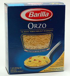 """Birds Eye® Orzo """"Risotto"""" with Peas   Recipe   Orzo, Risotto and ..."""