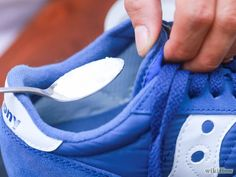 How to Clean Smelly Sneakers. Shoes can get smelly easily, especially if you walk a lot throughout the day. Shoe odor can be an embarrassing problem and buying new shoes can be expensive. There are plenty of ways to eliminate the odor in.