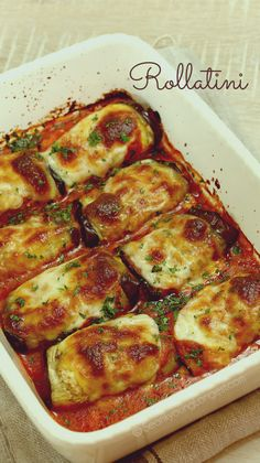 Eggplant Rollatini Recipe & Video - Asian at Home