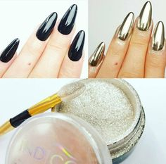 MetalManix Multi Chrome by Emilia Tokarz, Indigo Young Team #nails #nail…