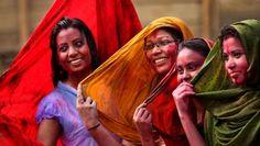 Holi-Fest in Indien