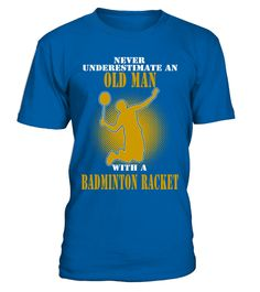 Never underestimate an old man - T-shirt