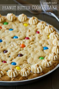 The Ultimate Peanut Butter Cookie Cake