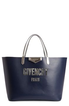 217920afb366 New GIVENCHY Antigona Bubble Logo Calfskin Tote online. Find the perfect  Bags from top store