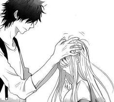 manga, anime, and couple image Anime Couples Drawings, Anime Couples Manga, Manga Anime, Cute Anime Coupes, Romantic Manga, Manga Cute, Anime Love Couple, Image Manga, Manga Drawing