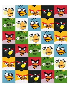 The Contemplative Creative: Project : Angry Birds Garland