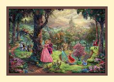 Thomas Kinkade - Sleeping Beauty