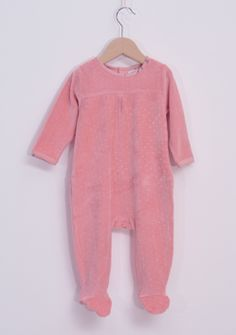WINTER COLLECTION / La Queue Du Chat / Sweet pink sleepsuit /  Soft and organic nightwear from our babywear collection www.littlefrenchy.com.au #french #laqueueduchat #new #winter #littlefrenchy
