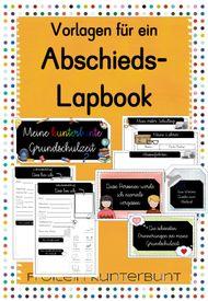 Vorlagen Abschieds Lapbook Download Bei Geschenke Zum Abschied