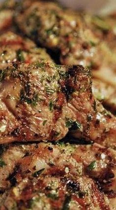 Rosemary-Garlic Lamb Rib Chops