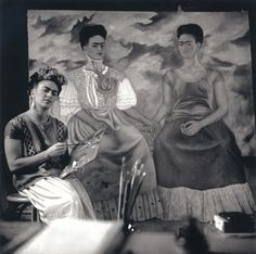 The Three Fridas Frida Kahlo by Muray