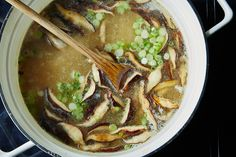 Miso Soup - one of my favorites. A great macrobiotic choice and easy if you have the right ingredients from an Asian or health food store.