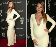 Embarazada con Vestido de fiesta
