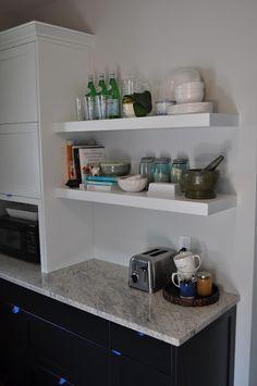 accessorize floating shelves
