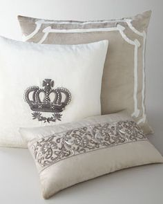 -4NSB   Imperial Crown Square Pillow Kasmir Oblong Pillow Angie Square Pillow