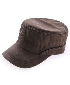Brown Color Denim Cap