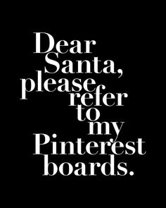 Santa, there's still time!
