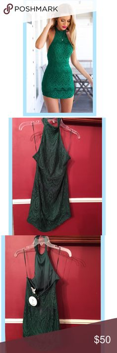 Green Apocalypse Dream Bodycon Dress Ordered from Mura Boutique; it is an Australian size 8 which fits like a U.S. 4 or 2. Shareen Collection Dresses Mini